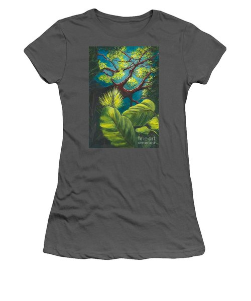 The Goblin Market Restaurant Tree Mt. Dora Women's T-Shirt (Athletic Fit)