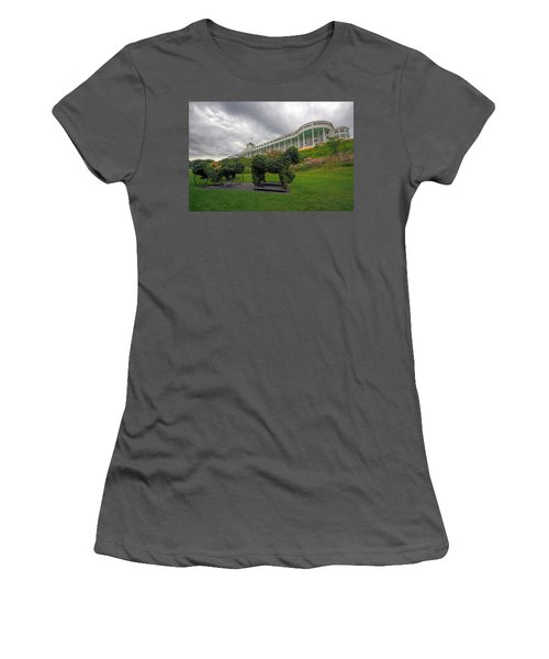The Grand Hotel Mackinac Island Women's T-Shirt (Athletic Fit)