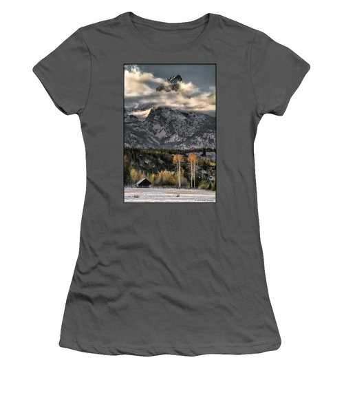 The Grand Teton Women's T-Shirt (Athletic Fit)