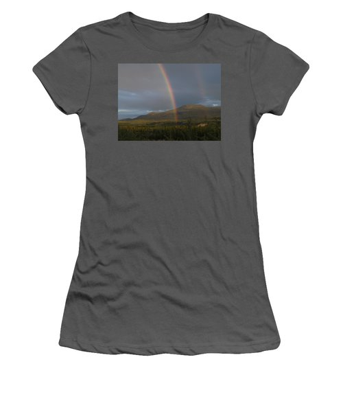 The Great Divide Women's T-Shirt (Junior Cut) by Brian Boyle