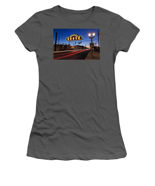 The Grove In Twilight Women's T-Shirt (Athletic Fit)