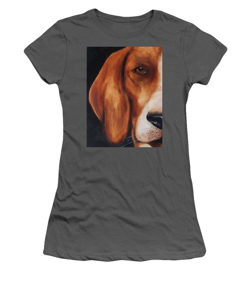 The Hound Women's T-Shirt (Athletic Fit)