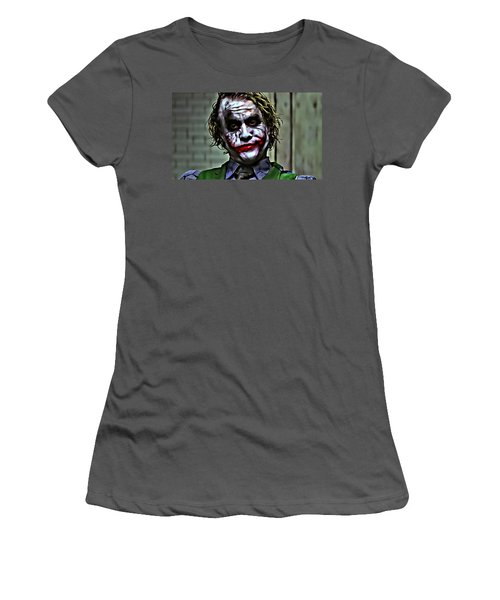 The Joker Women's T-Shirt (Junior Cut) by Florian Rodarte