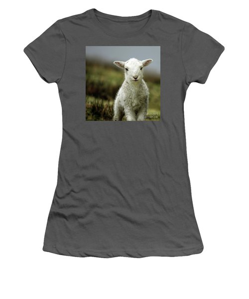 The Lamb Women's T-Shirt (Athletic Fit)