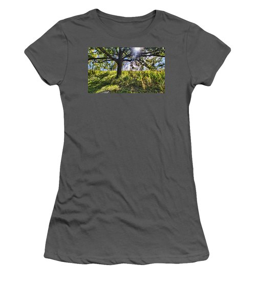 The Learning Tree Women's T-Shirt (Athletic Fit)