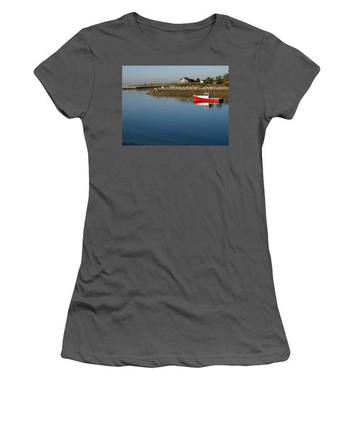 The Little Red Boat Women's T-Shirt (Athletic Fit)