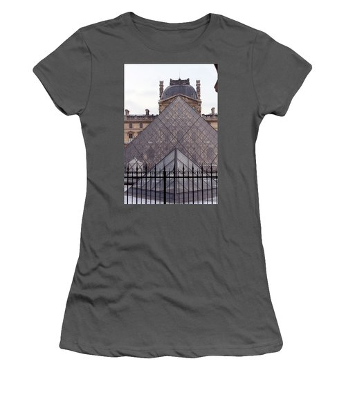 The Louvre Women's T-Shirt (Athletic Fit)