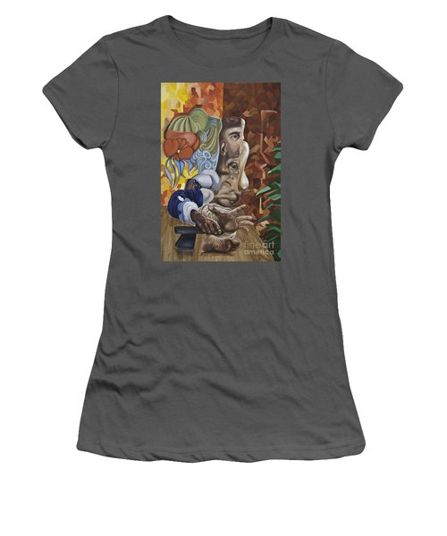 The Mad Sculptor Women's T-Shirt (Athletic Fit)