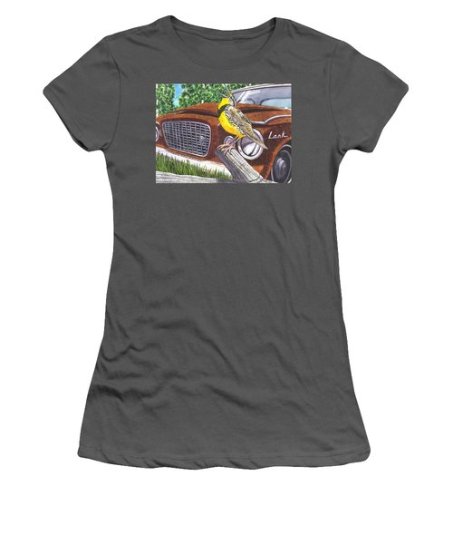 The Meadowlarks Women's T-Shirt (Junior Cut) by Catherine G McElroy