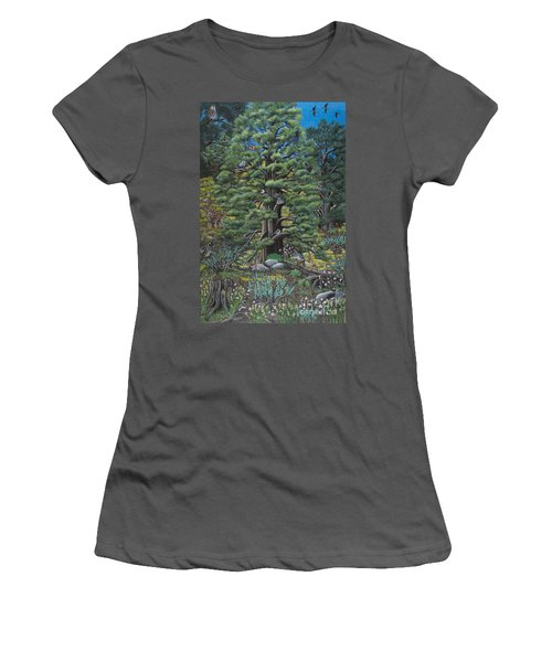 The Old Juniper Tree Women's T-Shirt (Athletic Fit)