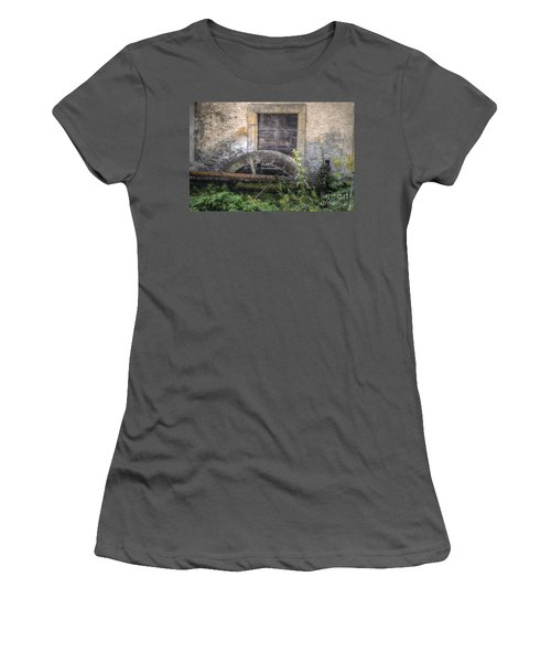 The Old Mill Women's T-Shirt (Junior Cut) by Michelle Meenawong