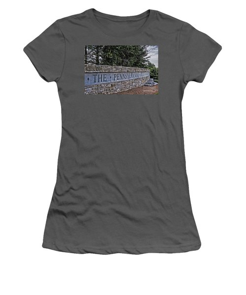 The Pennsylvania State University Women's T-Shirt (Athletic Fit)