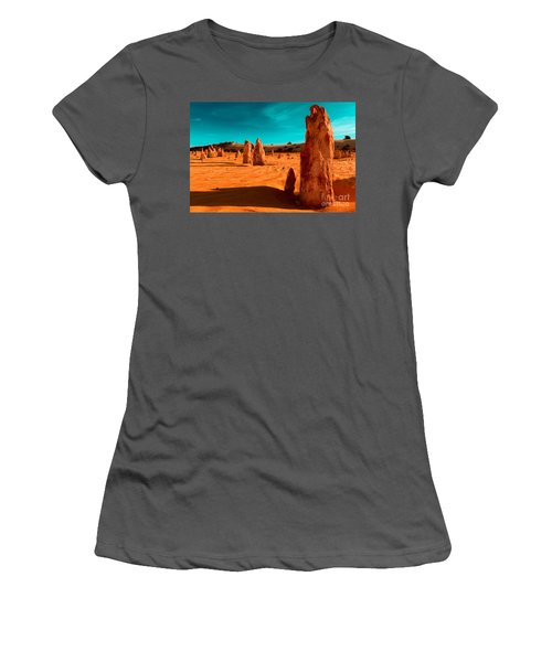 The Pinnacles Women's T-Shirt (Athletic Fit)