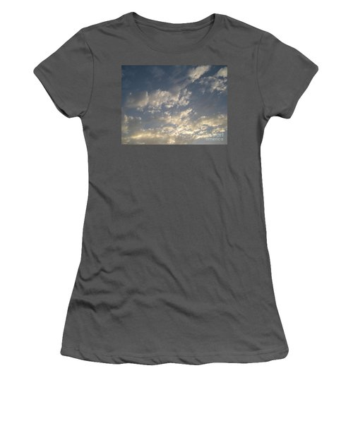 The Rain Storm  Women's T-Shirt (Junior Cut) by Joseph Baril