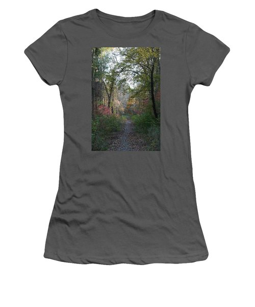 The Road Ahead No.2 Women's T-Shirt (Junior Cut) by Neal Eslinger