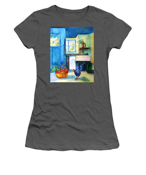 The Scullery  Women's T-Shirt (Junior Cut) by Trudi Doyle