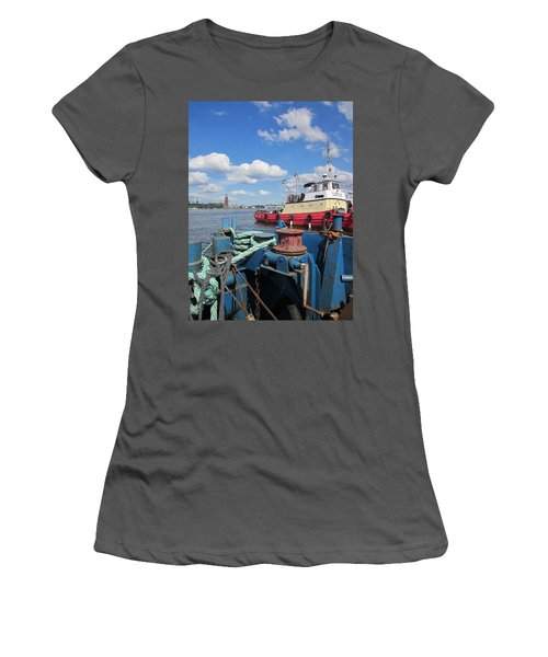 The Shipyard Women's T-Shirt (Athletic Fit)