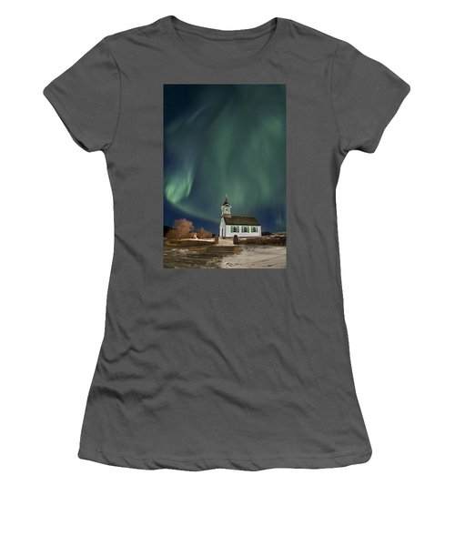 The Spirit Of Iceland Women's T-Shirt (Athletic Fit)