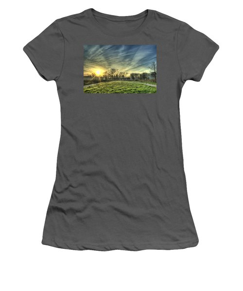 The Sun Shines Through Women's T-Shirt (Athletic Fit)