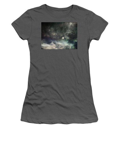 The Universe Women's T-Shirt (Junior Cut) by Cynthia Lassiter