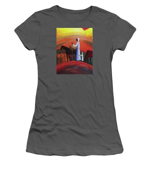 The Wandering Mary Magdalene Women's T-Shirt (Athletic Fit)