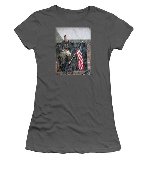 Women's T-Shirt (Junior Cut) featuring the photograph These Colors Dont Run by John Glass