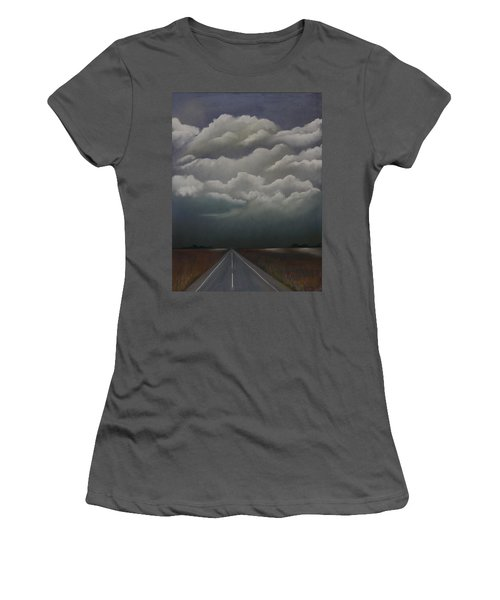 This Menacing Sky Women's T-Shirt (Athletic Fit)