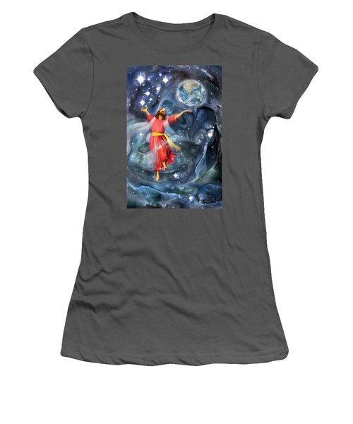 Through Him Women's T-Shirt (Athletic Fit)