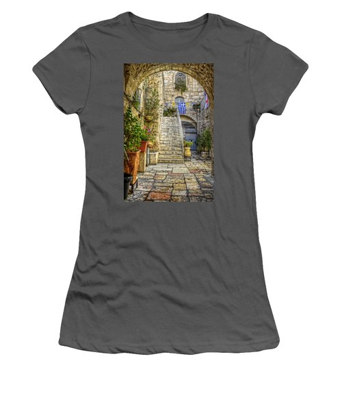 Through The Doorway Women's T-Shirt (Athletic Fit)