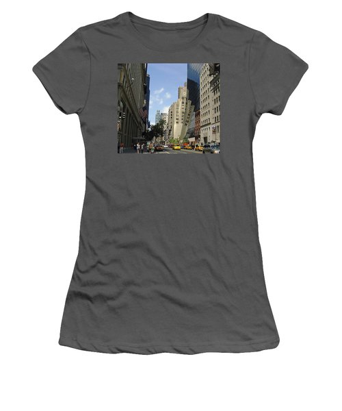 Women's T-Shirt (Junior Cut) featuring the photograph Through The Looking Glass by Meghan at FireBonnet Art