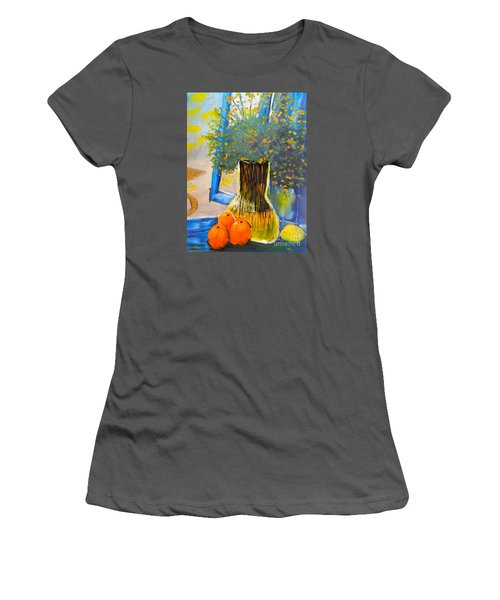 Through The Window Women's T-Shirt (Athletic Fit)