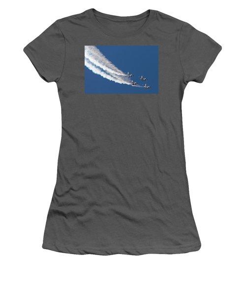 Thunderbird Loop Women's T-Shirt (Athletic Fit)