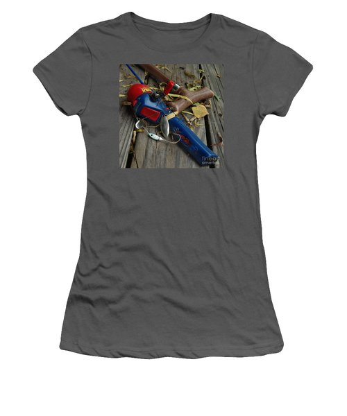 Ties That Bind Women's T-Shirt (Junior Cut) by Peter Piatt