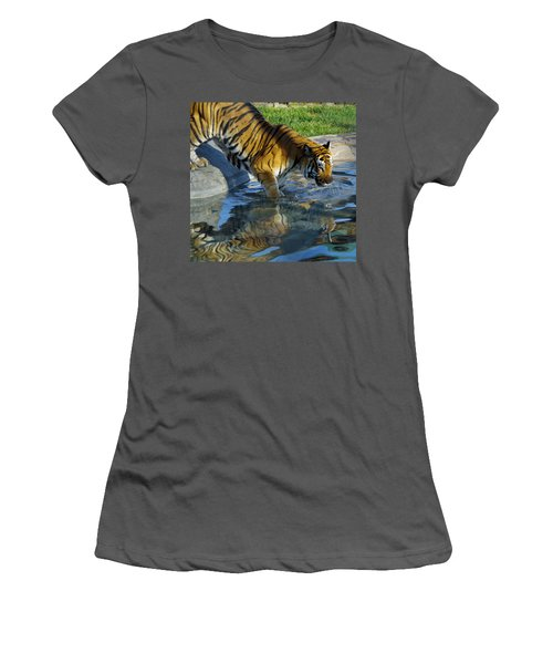 Tiger 1 Women's T-Shirt (Athletic Fit)