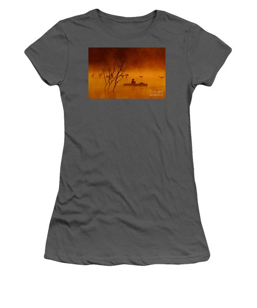 Time To Spread My Wings And Fly Women's T-Shirt (Athletic Fit)
