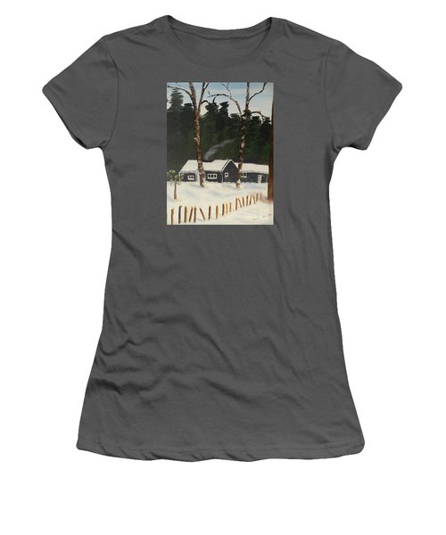 Tonys House In Sweden Women's T-Shirt (Athletic Fit)