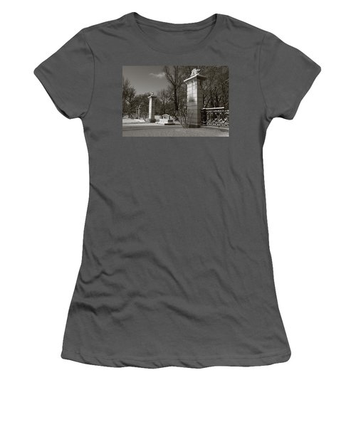 Tower Grove East Gate Women's T-Shirt (Athletic Fit)