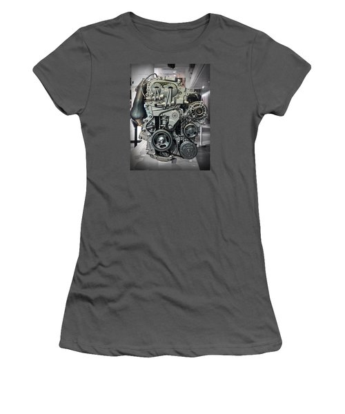 Toyota Engine Women's T-Shirt (Athletic Fit)