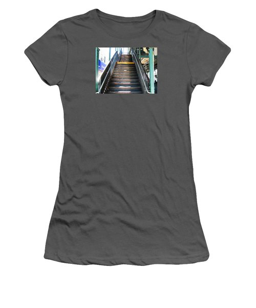 Train Staircase Women's T-Shirt (Athletic Fit)