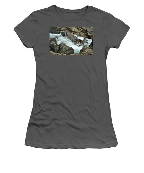 Women's T-Shirt (Junior Cut) featuring the photograph Tranquility by Lisa Phillips