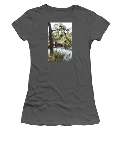 Tree And Branch Women's T-Shirt (Athletic Fit)