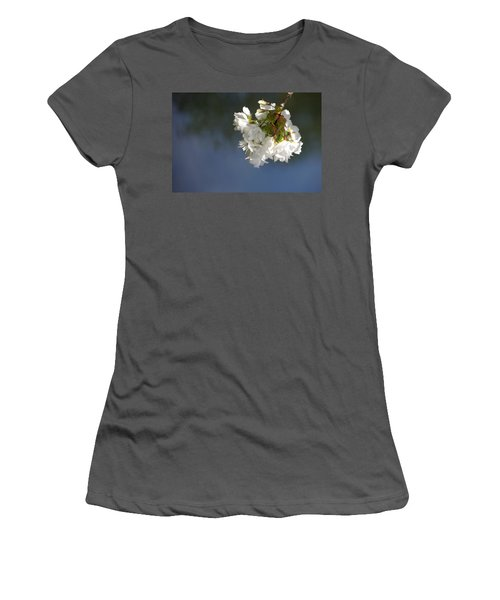 Women's T-Shirt (Junior Cut) featuring the photograph Tree Blossoms by Marilyn Wilson