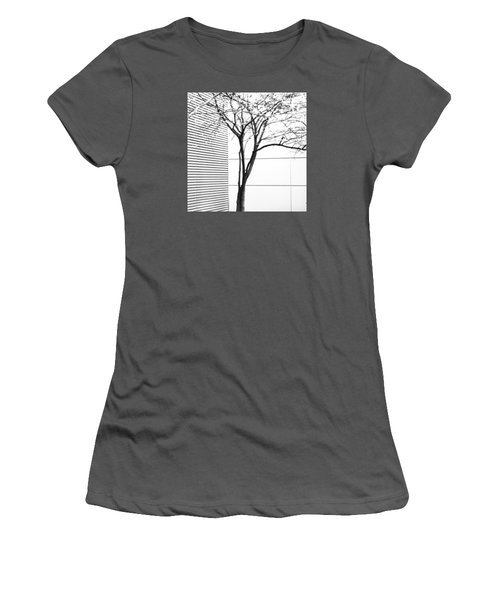 Tree Lines Women's T-Shirt (Junior Cut) by Darryl Dalton