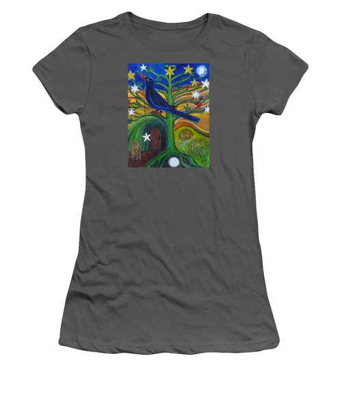 Tree Of Stars Women's T-Shirt (Athletic Fit)