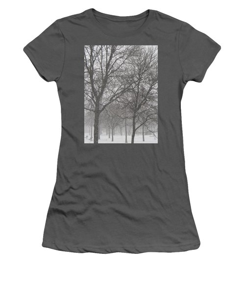 Trees Of Silence Women's T-Shirt (Athletic Fit)