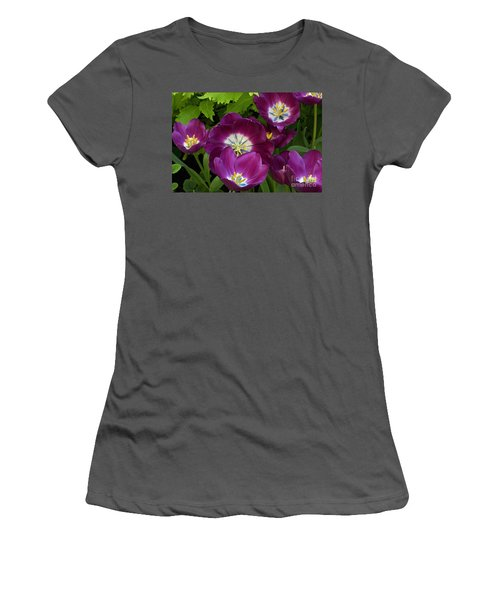 Triumph Tulips Negrita Variety Women's T-Shirt (Athletic Fit)