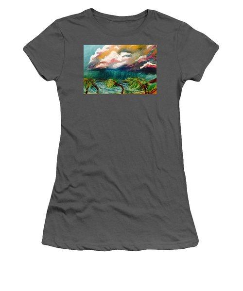 Tropical Storm Women's T-Shirt (Athletic Fit)