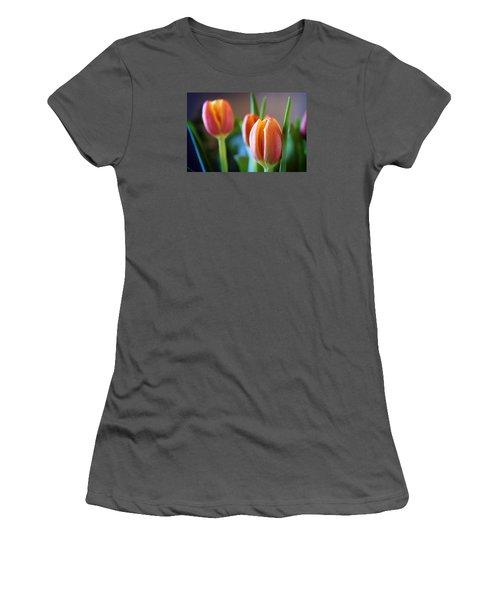 Tulips Artistry Women's T-Shirt (Junior Cut) by Milena Ilieva