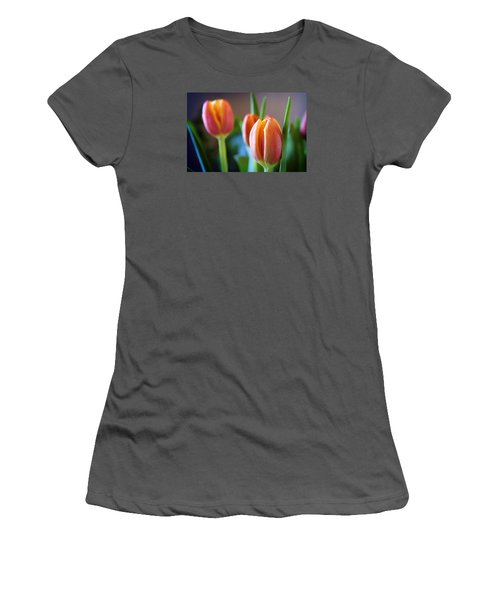 Tulips Artistry Women's T-Shirt (Athletic Fit)