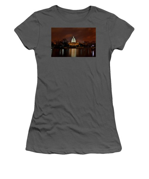 Twilight At The Capitol Women's T-Shirt (Athletic Fit)